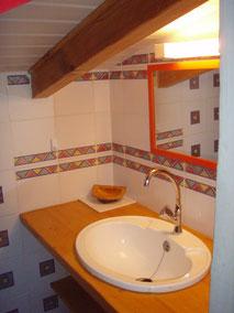 salle toilette étage,(wc, lavabo)