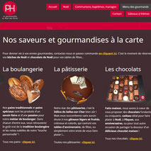 Dans le 1000 Communication - Agence web et design en Loir-et-Cher - Création du site web responsive design de la boulangerie Habert de Selles-sur-Cher
