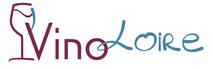 Dans le 1000 Communication - Agence graphique en Loir-et-Cher - Création de logos et de chartes graphiques - Logo de VinoLoire, visites guidées des vignobles du Val de Loire
