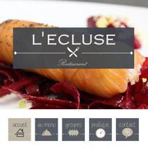 Dans le 1000 Communication - Agence web et design en Loir-et-Cher - Création du site web responsive design du restaurant L'Ecluse d'Amboise