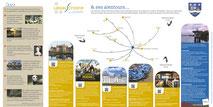 Dans le 1000 Communication - Agence graphique en Loir-et-Cher - Création de flyers, plaquettes, affiches, cartes de visite, banderoles - Panneau d'informations touristiques pour le village de Lassay-sur-Croisne en Sologne