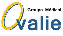 Dans le 1000 Communication - Agence graphique en Loir-et-Cher - Création de logos et de chartes graphiques - Logo du groupe médical Ovalie à Montpellier