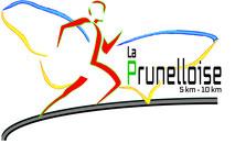 Dans le 1000 Communication - Agence graphique en Loir-et-Cher - Création de logos et de chartes graphiques - Logo de la course annuelle de La Prunelloise à Pruniers-en-Sologne