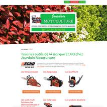 Dans le 1000 Communication - Agence web et design en Loir-et-Cher - Création du site web responsive design de Jourdain Motoculture à Noyers-sur-Cher