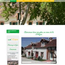 Création du site web responsive design 1, 2, 3, Sologne - Gîtes en Loir-et-Cher - Cécile Marino Dans le 1000 Communication
