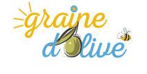 Dans le 1000 Communication - Agence graphique en Loir-et-Cher - Création de logos et de chartes graphiques - Logo de Graine d'Olive