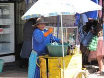 Sahne Schlagen á la Bolivia