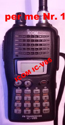 ICOM IC-V85 - output 7Watt