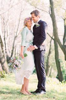 farbige Brautkleider