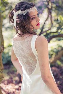 Brautkleider mit zarter Tüllspitze
