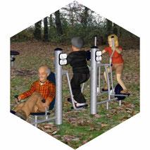 Beispiel eines Outdoor-Spielgerätes