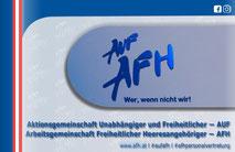 Logo der AUF/AFH