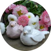 Keramikvögelchen