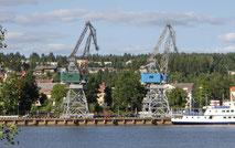 Hamnkranar i Östersund