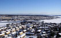 Vy över Östersund