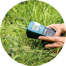 Messgerät zur Ermittlung des pH-Werts im Boden
