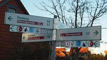 """Der Komturhof liegt im alten Ortskern von Darlingerode. Die Strasse """"Im Winkel"""" hieß früher nicht ohne Grund Mönchsgasse"""