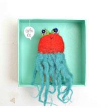 Fingerpuppe Oktopus