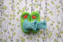 weiche warme Hausschuhe für Kinder aus Wolle handgefilzt von Faserverbund
