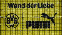 wand der liebe puma bvb dortmund signal iduna  park stadion drahtler architekten planungsgruppe
