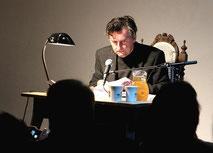 Werkstatt Murberg Lesung 2013 Johannes Silberschneider  liest Herms Fritz 04