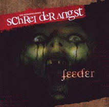 CD Cover Feeder - Schrei der Angst