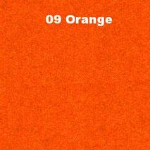 Bassabsorber Filz Sitzhocker Pouf - Orange