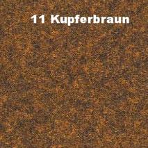 Bassabsorber Filz Sitzhocker Pouf - Kupferbraun