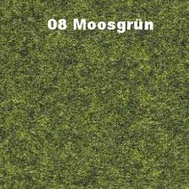 Bassabsorber Filz Sitzhocker Pouf - Moosgrün