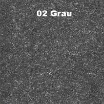 Bassabsorber Filz Sitzhocker Pouf - Grau