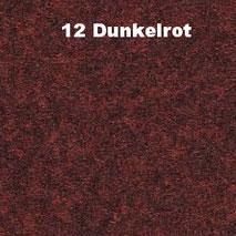 Bassabsorber Filz Sitzhocker Pouf - Dunkelrot