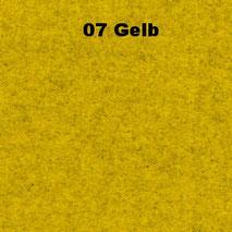Bassabsorber Filz Sitzhocker Pouf - Gelb