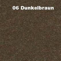 Bassabsorber Filz Sitzhocker Pouf - Dunkelbraun