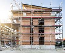 Fassadenarbeiten, Wärmedämmung