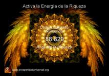 Código sagrado numérico Agesta, 88828, atraer dinero en abundancia, riquezas, oro, prosperidad, éxito en los negocios, ángel de la riqueza - ejercitación guiada de Activación creada por Prosperidad Universal