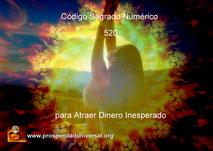 ACTIVACIÓN DE  CÓDIGO SAGRADO NUMÉRICO - AGESTA - 520 - EJERCITACIÓN GUIADA - PARA RECIBE  DINERO DE FORMA INESPERADA - PROSPERIDAD UNIVERSAL