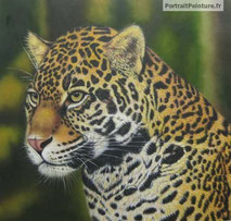 idée-cadeau-personnalisé-animal-guepard-peinture-huile-portrait-vegan