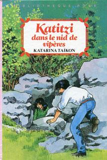 Katitzi dans le nid de vipères,  Illustrator François Place, Hachette jeunesse, 1985