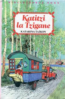 Katitzi la Tzigane, Illustrator François Place, Hachette jeunesse, 1984