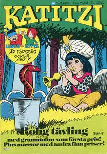 Katitzi Comic Nr. 3 von 1975 + Innenteil (Geschichten, Bilderrätsel)