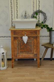 Waschtisch Holz-Vintage