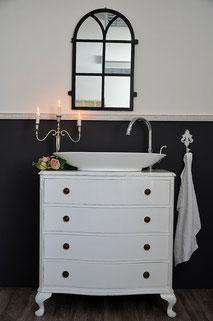Badezimmer-Waschtisch Art Déco