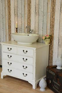 Waschbeckenschrank Vintage