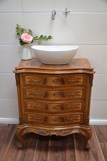 Antiker Barock-Waschtisch