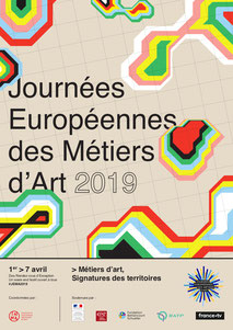 Evènement Journées européennes des métiers d'art à Nantes et Saint-Nazaire en avril 2019
