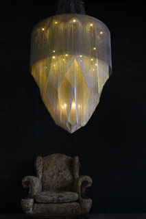 Willowlamp Crystal Mandala Luxus-Kronleuchter african avantgarde
