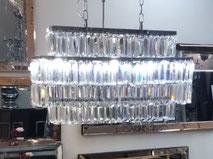 Zilverkleur hanglamp Alpina