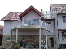 Treppengeländer, Eingangstreppen