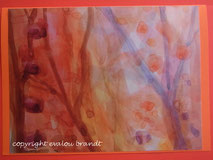 018 Herbstwald gemalt