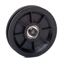 Cable Pulley Ø 90 mm for ropes up to Ø 7 mm with ball bearing